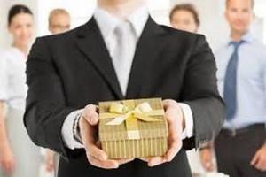 Привлекательный презент деловому партнеру